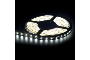 Noble Electricals Flexible Led Strip Lights Cool White (8 W) Length 5m - Ip 65