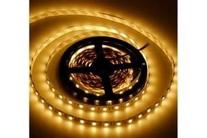 Noble Electricals Flexible Led Strip Lights Warm White (16 W) Length 5m - Ip 20