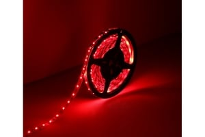 Noble Electricals Flexible Led Strip Lights Red (14.4 W) Length 5m - Ip 65
