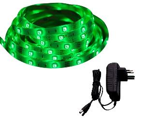 Syska Ssk-St-8060 24w Green Led Strip Light With Adapter