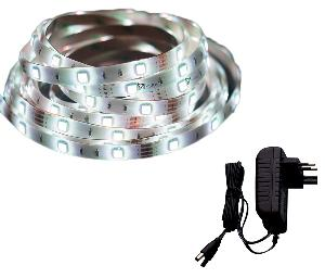 Syska Ssk-St-8060 24w Cool White Led Strip Light With Adapter
