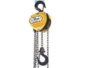 Indef Chain Pulley Block M 20 Capacity 20 Ton 3 Metre Standard Lift