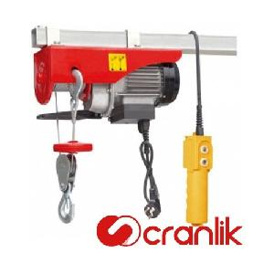 Cranlik Pa1000 1 Ton, 30 Metre Electric Wire Rope Hoist