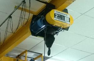 Loadmate Hd 0204 Electric Wire Rope Hoist Capacity 2 Ton