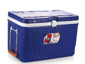 Aristo Red And Blue Ice Box 110 Litre With Vent Lid And Wheel