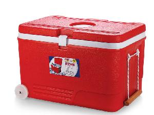 Aristo Red Ice Box 110 Litre With Tap And Wheel