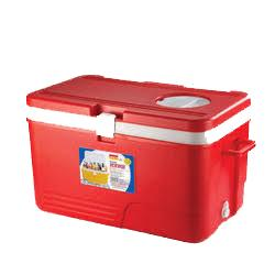 Aristo Red Ice Box 60 Litre With Vent Lid And Tap