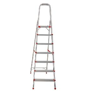 Fulcrum 7 Step Foldable Aluminium Ladder 6 Ft Fc-Dlh107