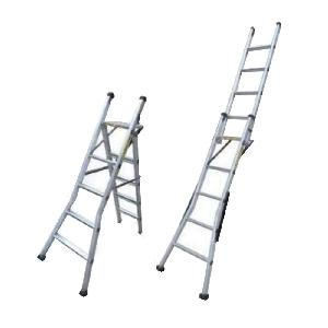 Buy Super 20 Feet Aluminium Heavy Duty Stool Cum Ladder With