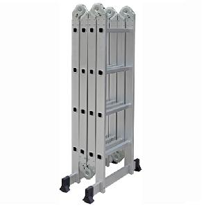 Fulcrum Adjustable 4 X 4 Step Multipurpose Ladder 15.2 Ft Fc-Dlm104