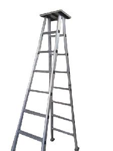 Dms 6 Feet Self Supporting Aluminium Ladder With Platform Dms7708(T)