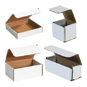 "Bauxko 6"" X 2 1/2"" X 1 3/4"" Corrugated Mailers Pack Of 50 Mrx2l-50"