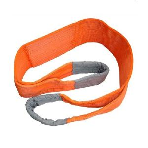 Fulcrum Orange Webbing Sling 10 Ton Four Ply Fws-10tx10m
