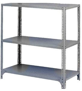 "Ib Basics 49"" X 15"" X 36"" Storage Rack With 3 Shelves"