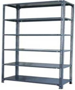Kaveri Products 6 Shelf 18 x 96 inch Slotted Angle Racks