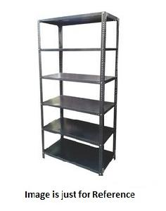 Paras Steel Furniture 98 X 15 X 36 Inch 6 Shelves Storage Rack