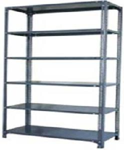 Ib Basics Storage Rack 6 Shelf 98x18x36 Inch 90 Kg Udl