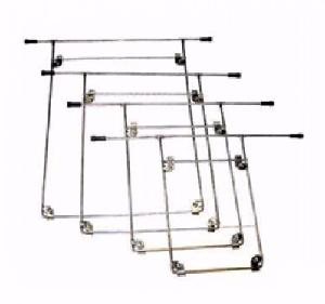 Vittico 8 X 10 Inch Stainless Steel X-Ray Hangers