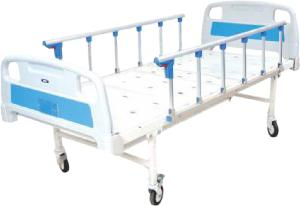 Wellton Healthcare Plain Hospital Bed With Side Railing And Wheel Wh-409 E