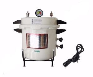 Vittico 2 Kw 21 L Epoxy Finish Pressure Cooker Type Portable Autoclave