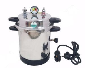 Vittico 2 Kw 21l Mirror Finish Pressure Cooker Type Portable Autoclave