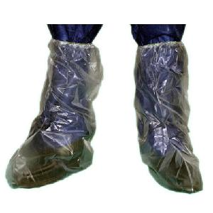 Psi Elasticated Polyethylene Knee Length Shoe Cover Psi-907