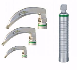 Vittico 3 Disposable Fibre Optic Blades 1, 2 And 3 Laryngoscope Set