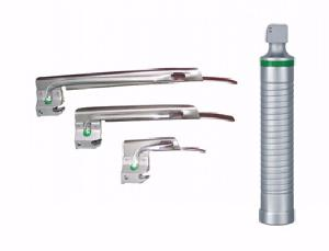 Vittico 3 Disposable Fibreoptic Blades 1, 2, 3 Miller Laryngoscope Set