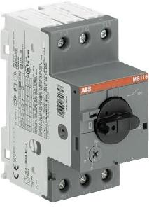 Abb Manual Motor Starter 12a Ms116-12