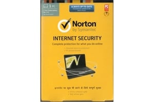 Norton Latest Internet Security Software 1 Year 1 User