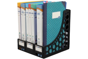 Solo Fs 301 Black File & Book Rack