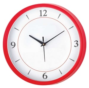 Asian Round Red Wall Clock 11