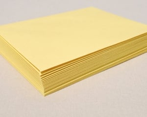 Trison 12x10  Yellow Jali Envelope 1000 Pcs.