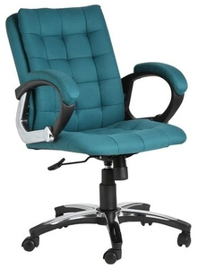 Vj Interior Brillo Green Color Executive Chair
