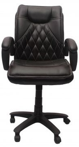 Vj Interior Visitor Chair Black 19 X 22 X 41 Inch Vj-1-Visitor-Mb