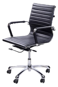 Stellar Medium Back Office Chair Black 480 X 460 X 910 Mm
