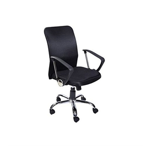 Stellar Medium Back Office Chair Black 450 X 470 X 930 Mm