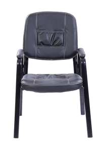 Stellar Visitor Office Chair Black 490 X 460 X 955 Mm