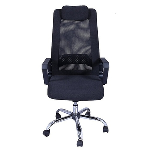 Stellar Visitor Office Chair Black 500 X 490 X 1100 Mm