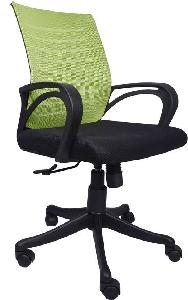 Vj Interior Verde Task Chair Black And Green 19 X 20 X 21 Inch Vj-0162