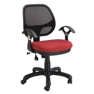 Swift Net Chair Red And Black Color Sm 527