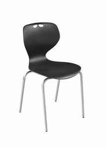 Swift Resturant Chair Black Color Sr 902