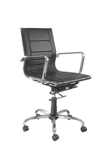 Swift Sleek Chair Black Color Ss 314