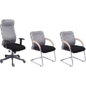 Divano High Back Office Chairs Set Of 3 Combo 003