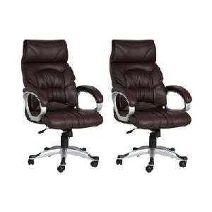 Divano High Back Office Chairs Set Of 2 Combo 010