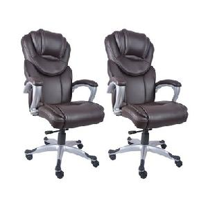 Divano High Back Office Chairs Set Of 2 Combo 007