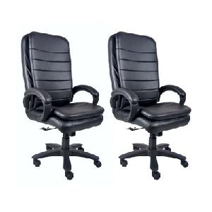 Divano High Back Office Chairs Set Of 2 Combo 009