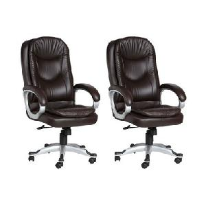 Divano High Back Office Chairs Set Of 2 Combo 013