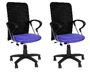 Divano Modular Office Chairs Set Of 2 Combo Dm 950