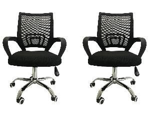 23a66e1ccbf IB BASICS Executive Low Back Mesh Chair Set – Buy Two Office Chairs at Price  of One Online in India – Industrybuying